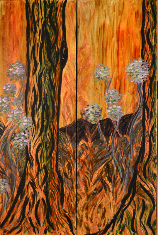 Fire Nymphs by Jane Albright